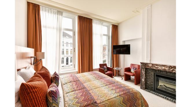 范克莱夫酒店 - 布鲁日 - 睡房