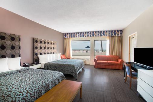 帆之海滨戴斯酒店 - 奥蒙德海滩 - 睡房