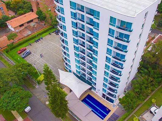 摩根娜波夫拉多套房酒店 - 麦德林 - 建筑