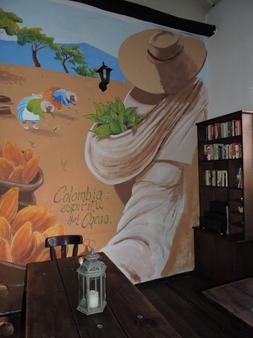 巧克力旅馆 - 波哥大 - 餐厅