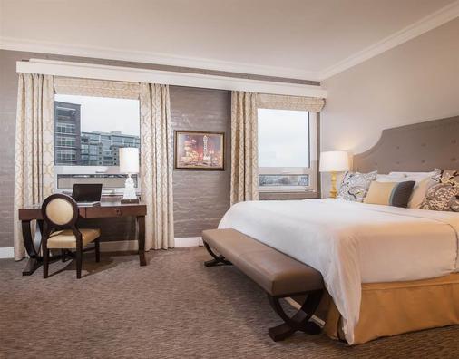 马克史宾塞酒店 - 波特兰 - 睡房