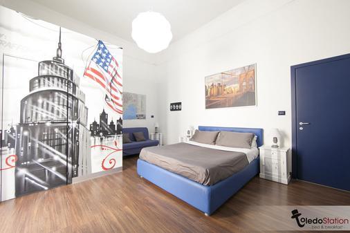 拖乐都站B&B酒店 - 那不勒斯 - 睡房