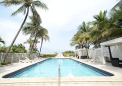 米默萨酒店 - 迈阿密海滩 - 游泳池