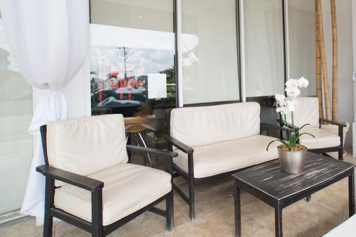 米默萨酒店 - 迈阿密海滩 - 客厅