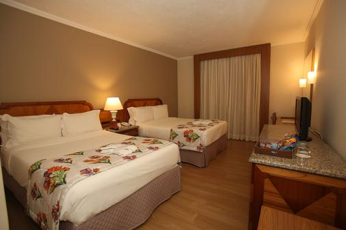 马布瑟玛斯度假大酒店 - 伊瓜苏 - 睡房