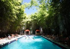 卡塔利娜酒店与海滩俱乐部 - 迈阿密海滩 - 游泳池