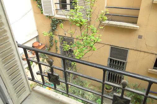 萨尔维酒店 - 勒瓦卢瓦-佩雷 - 阳台