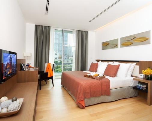 曼谷素坤逸夏玛酒店 - 曼谷 - 睡房