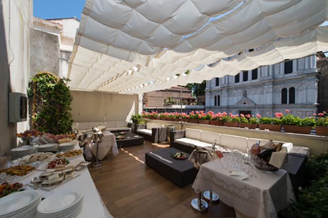 萨沃亚及尤兰达酒店 - 威尼斯 - 餐馆