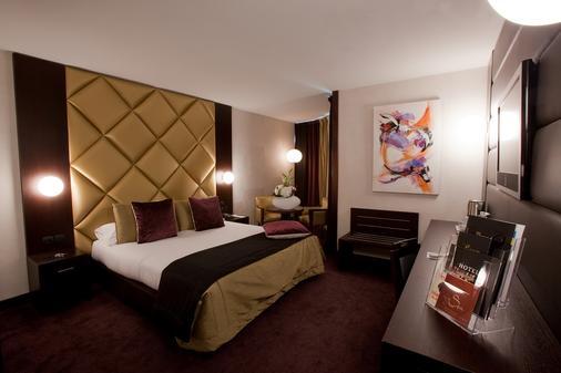 帕拉迪亚酒店 - 图卢兹 - 睡房