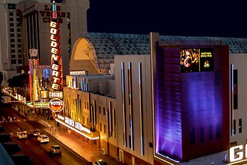 金门赌场酒店 - 拉斯维加斯 - 建筑