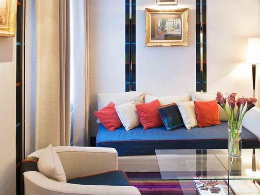 加蓬酒店 - 巴黎 - 客厅