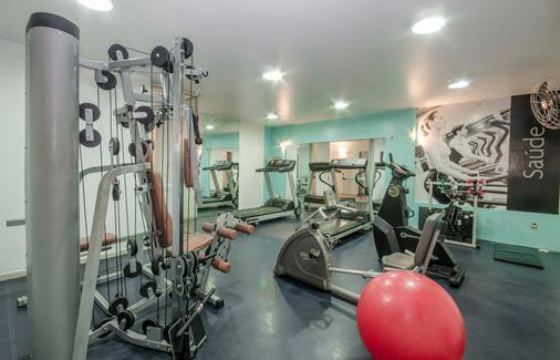 圣保罗公寓 - 马瑙斯 - 健身房