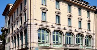 裴斯泰洛卢加诺酒店 - 卢加诺 - 建筑