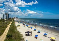 沙滩俱乐部度假酒店 - 默特尔比奇 - 海滩