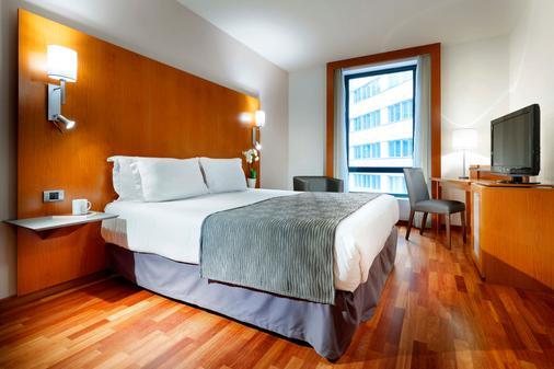 里斯本广场欧洲之星酒店 - 里斯本 - 睡房