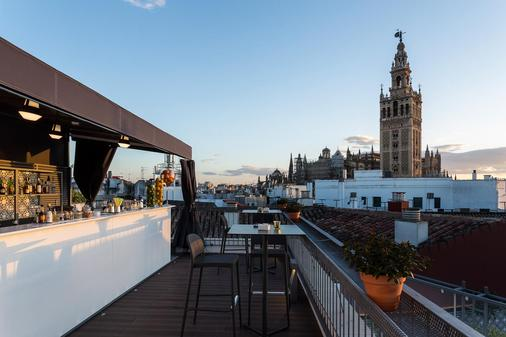 赛维利亚精品欧洲之星酒店 - 塞维利亚 - 阳台