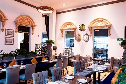 伊孔尼克普耶布拉酒店 - 普埃布拉 - 自助餐