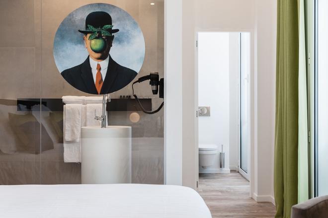 坡提纳里酒店 - 布鲁日 - 浴室
