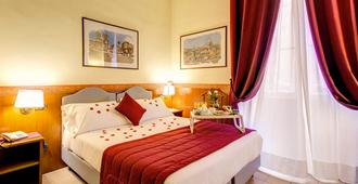 吉欧托弗拉维亚酒店 - 罗马 - 睡房
