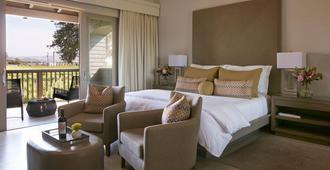江山旅馆住宿酒店 - 纳帕 - 睡房