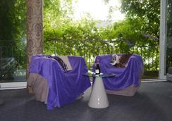 阿方索宫殿酒店 - 亚琛 - 露台