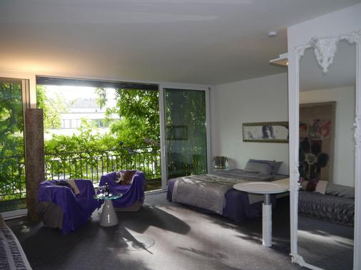 阿方索宫殿酒店 - 亚琛 - 睡房