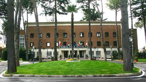 Regal Park Hotel - 罗马 - 户外景观
