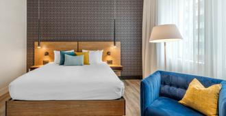 皇家威廉酒店 - 魁北克市 - 睡房