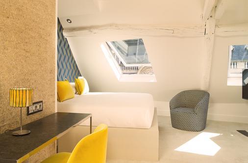 巴黎德赛兹酒店 - 巴黎 - 睡房