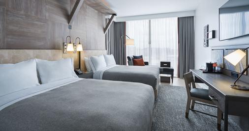 华盛顿特区码头希尔顿Canopy酒店 - 华盛顿 - 睡房