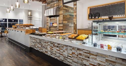 华盛顿特区码头希尔顿Canopy酒店 - 华盛顿 - 自助餐