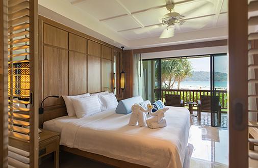 普吉岛卡塔坦尼海滩度假村 - 卡伦海滩 - 睡房
