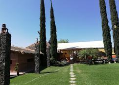 Hotel La Estancia Spa - Río Verde - 露台