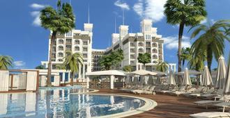 夸特罗海滩水疗度假村 - 式 - 阿拉尼亚 - 建筑