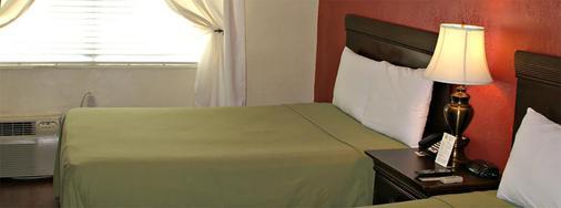 南海滩广场酒店 - 迈阿密海滩 - 睡房