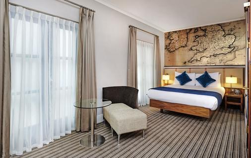 伦敦多克兰河滨希尔顿逸林酒店 - 伦敦 - 睡房
