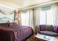 诺布山酒店 - 旧金山 - 睡房