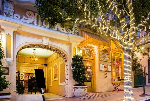 诺布山酒店 - 旧金山 - 建筑