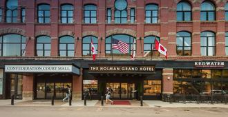 霍尔曼大酒店 - 夏洛特顿 - 建筑