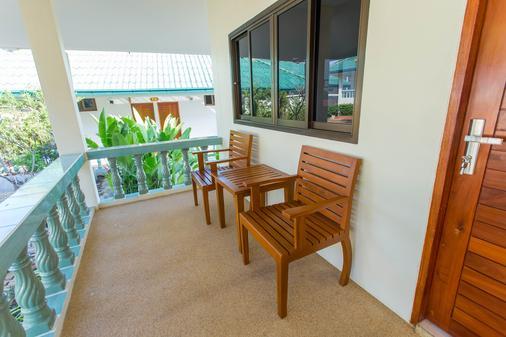 苏梅岛珊瑚礁景观度假酒店 - 苏梅岛 - 阳台