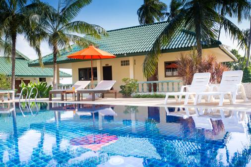苏梅岛珊瑚礁景观度假酒店 - 苏梅岛 - 游泳池