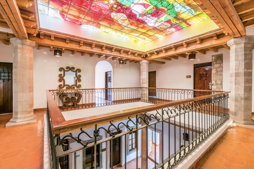 卡萨维瑞耶斯酒店 - 瓜纳华托 - 门厅