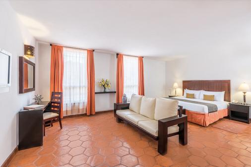 卡萨维瑞耶斯酒店 - 瓜纳华托 - 睡房
