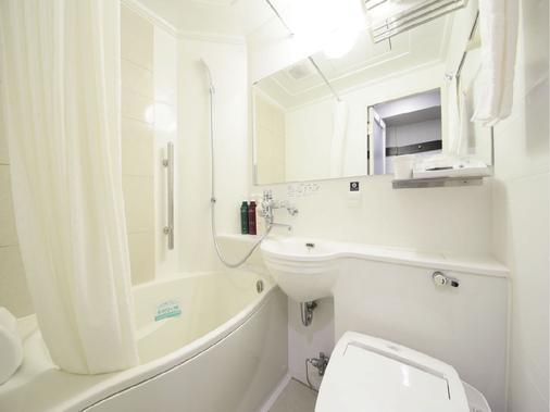 新宿御苑前阿帕酒店 - 东京 - 浴室