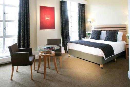 都柏林格雷沙姆riu广场酒店 - 都柏林 - 睡房