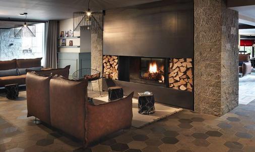 勒普瑞若小木屋酒店 - 夏蒙尼-勃朗峰 - 大厅