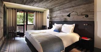 勒普瑞若小木屋酒店 - 夏蒙尼-勃朗峰 - 睡房