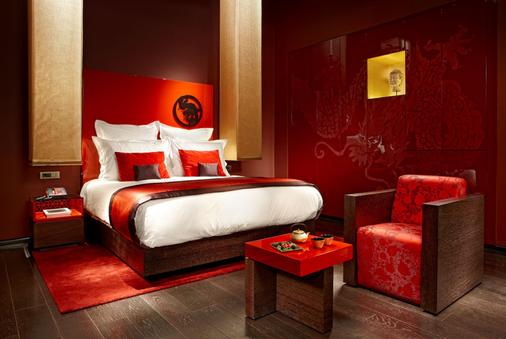 布达佩斯克洛提德宫佛陀吧酒店 - 布达佩斯 - 睡房