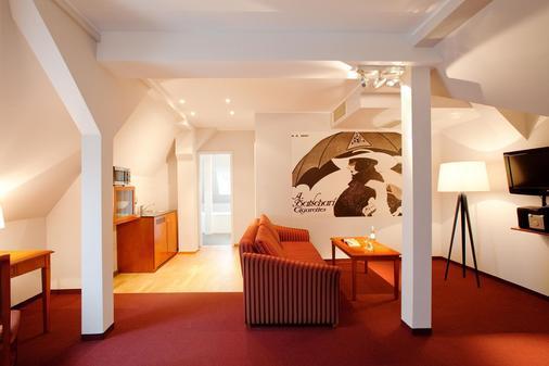安科纳生活巴沙利8号酒店 - Baden-Baden - 客厅